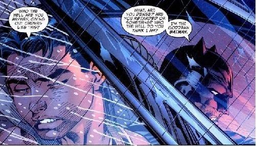 "Goddamn Batman. . Sliter. FEE intil TI"" I E ii TEIN til. U might Need some shark repelent batman goddamn l"
