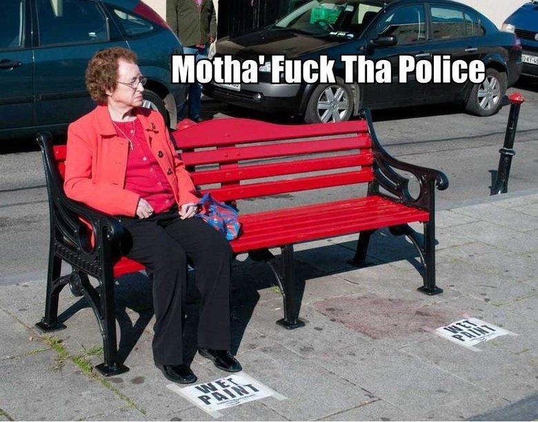 goddamnit goddamnit goddamnit. You broke the rules!. gaha Police l