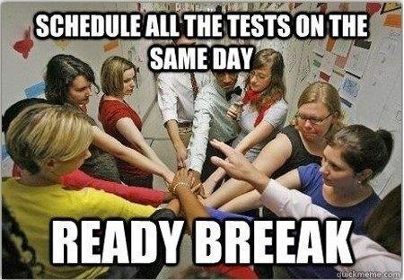 Goddamnit teachers. I bet they secretly do this too. an ll? teachers