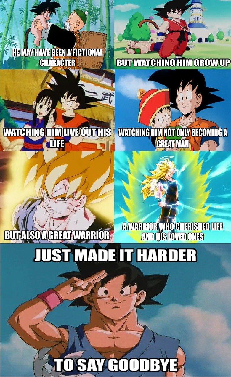 Goku. .. For some it's pretty easy. dbz
