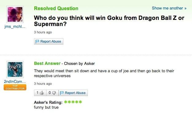 Goku Vs Superman Science Goku vs superman Goku Vs Superman Science