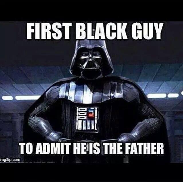 "Good Guy Vader. . runs: melt am! Gimili HHS ENE:. ""whats a nubian?"""