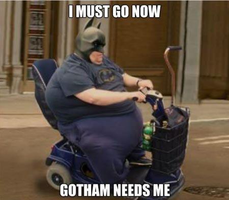 gotham needs me. . I GI] NOW NEWS ME