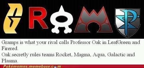 gramps. .. Ah damn imagine a pokemon battle against him...