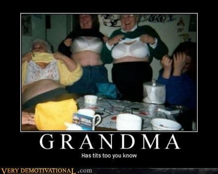 grandma. .. Rosie seal of approval