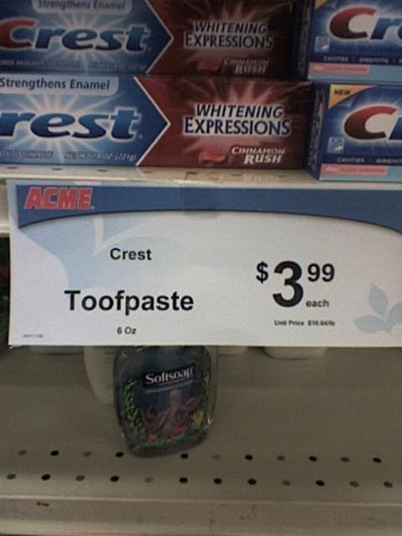 Great deal on Toofpaste. .