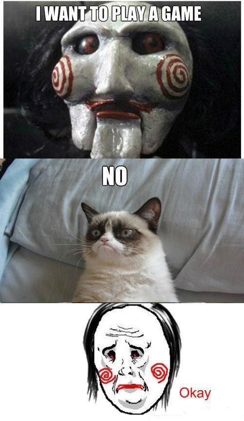 Grumpy Cat. Not mine..