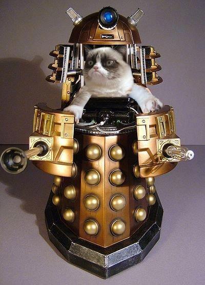 Grumpy Dalek. not mine.