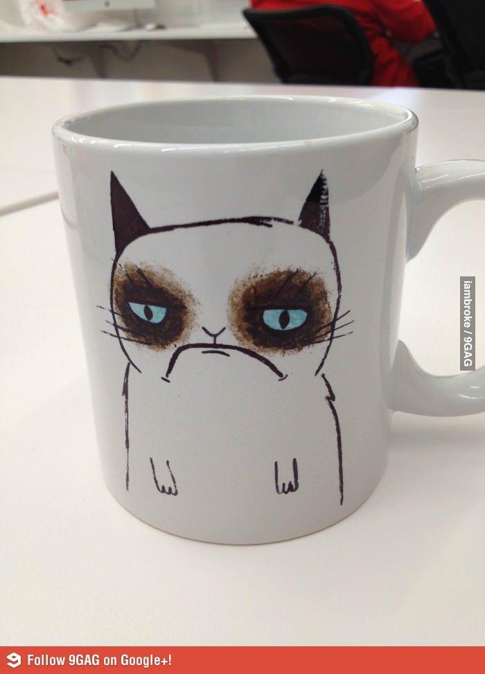 Grumpy Mug. Not OC. I Laughed, so I'll share.. S Failng 96116 on Googleing. Nice watermark