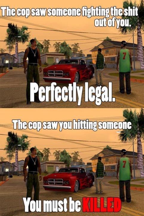 GTA logic. Tags are so true.