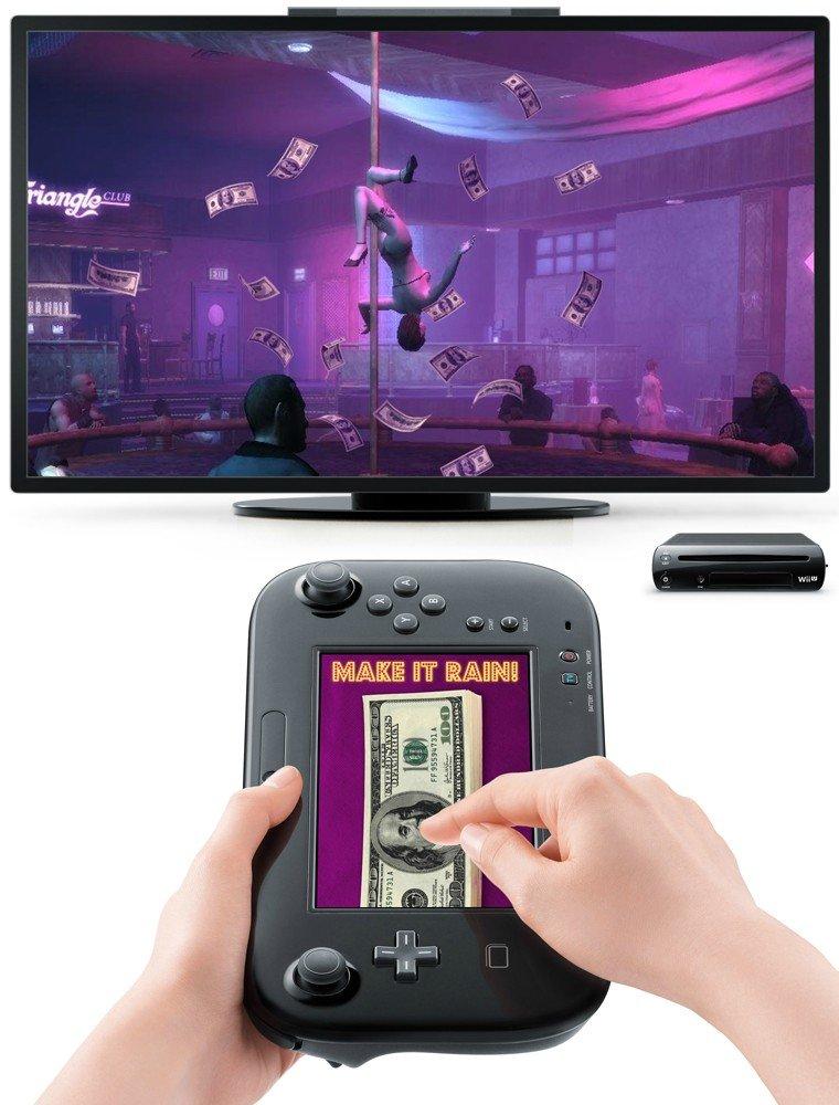 GTA on Wii-U. .. ▬▬▬▲▬▬▲▬▬▬ ▬▬▼▬▬▼▬▬▬▬ ▬Ⓐ▬▬Ⓐ▬▬▬▬▬