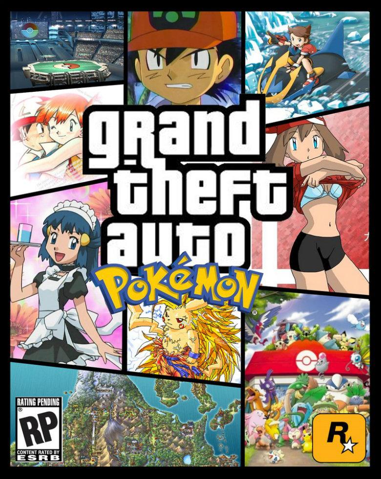 GTA: Pokemon. Found, not made..