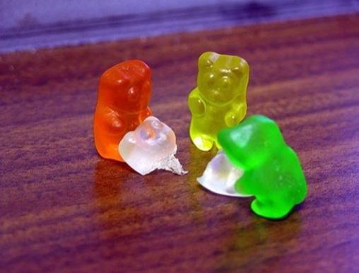 gummy bear. .