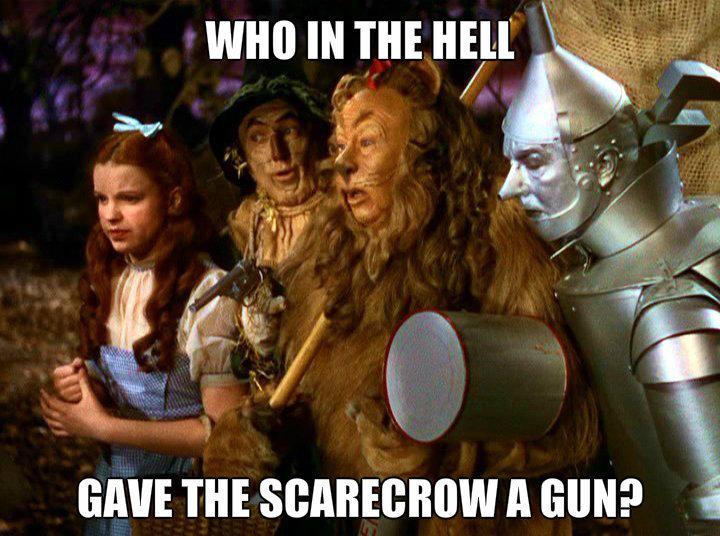 Gun. . GAVE m A GUN?