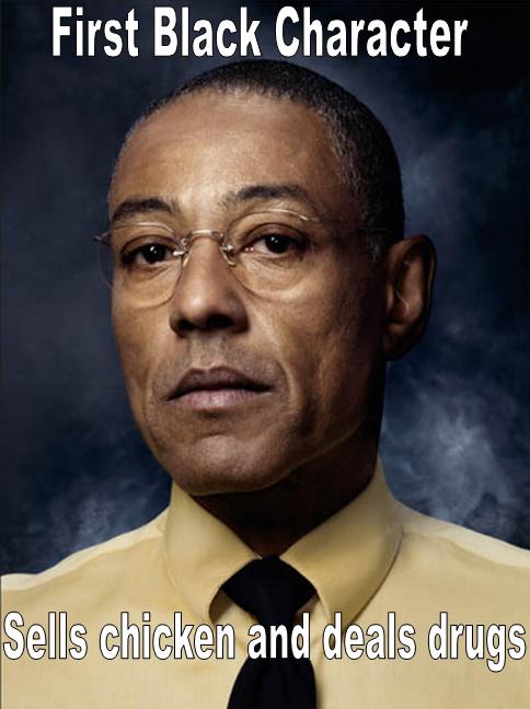 Gustavo. I am Heisenberg.. First Black Character breaking bad