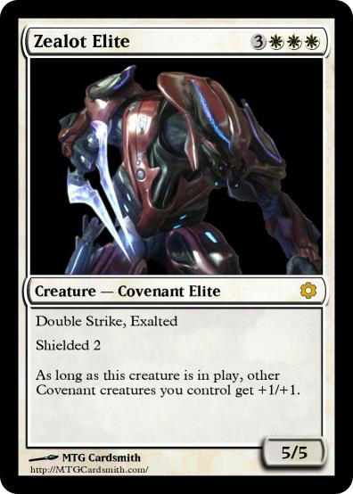 "H:MTGE (Zealot Elite). . Zealot Elite Creature — Covenant Elite Strike, Exalted 10113 as Lhos creature is in cam , creatures gnu :: gm: "" delit 1. Pelaa MTG"