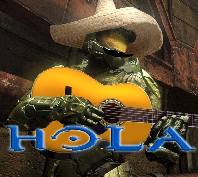 HOLA!. halo made it to mexico.