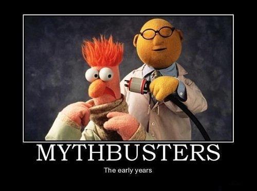 Ha. . EH a. More like Meethbusters, huh?