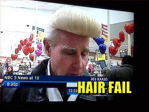 Hair Fail. Epic Hair . FABC. Johny Bravo!!!