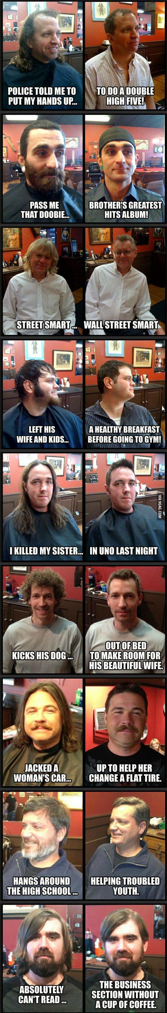 "Haircut. . rolls: mm ME TO I II] no [ PASS ME i, THAT ... HITS mum! HIS A BREAKFAST WIFE Mil KRIS... REFINE Mi, rla TO GYM! A Inna VIA I I MY SISTER... lit ""III"