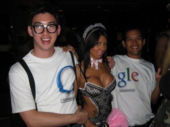 halloween WIN. . Google Halloween Boobs win