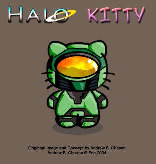 Halo Kitty :D. stuff. qea' 1. epic.