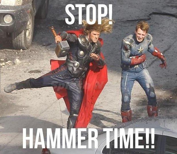 Hammer time!. .