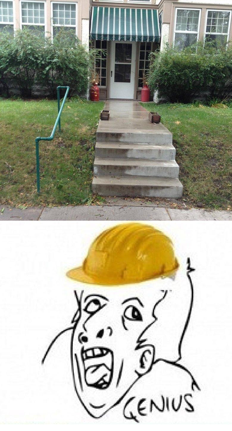hand rail. .. That´s my Rail! MUAHAHAHAHAHAHAHAHHAHA