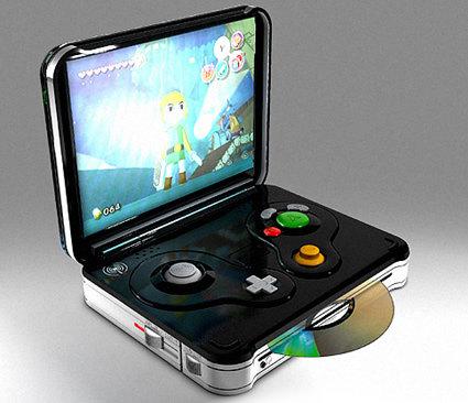 Handheld Gamecube. .