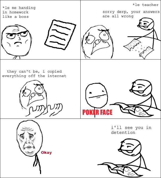 Internet homework