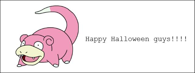Happy Halloween!. .