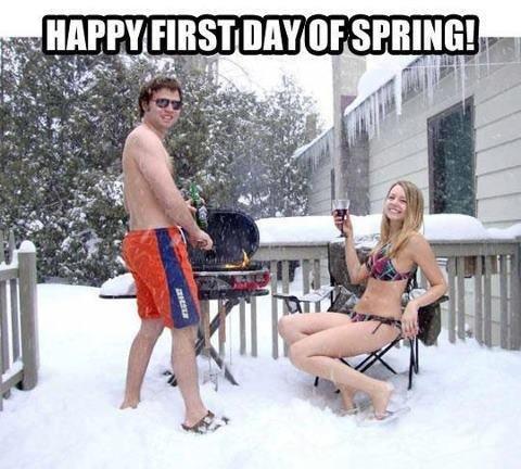 Happy spring. .