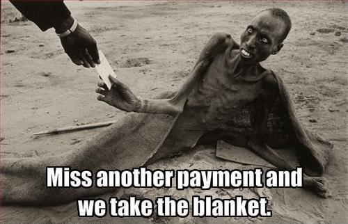 Hard times in Nigeria. .