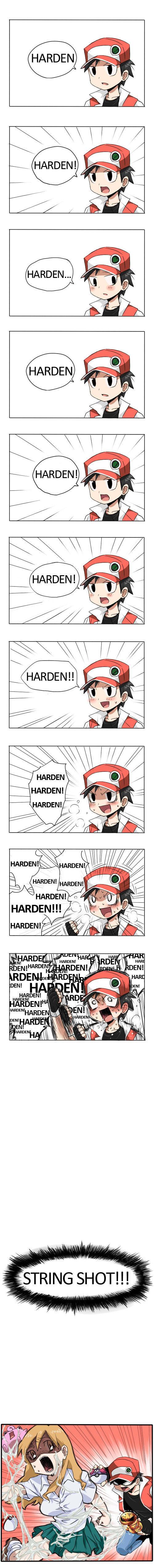 HARDEN. . Rape Pokemon WTF