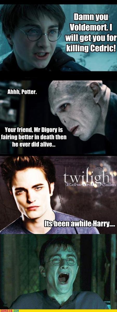 "Harry potter LOL. got this from , u can thumb up, down, or skip to the next picture. namn will will net van attr ina"" l} ethnic! anl! llr A tit , Mr Brotag Is J Harry Potter twilight sucks volemort lol"