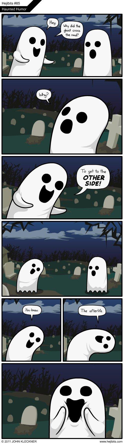 Haunted Humor. Top 3! Uhuhuhuhuhuh Creds to Hejibits. Haunted Humor NI 2011 MCEIHT lea% Th, EH. This is bound to be useful someday. so fucking punny omg ahahahahahahaha ghosts fuck yeah