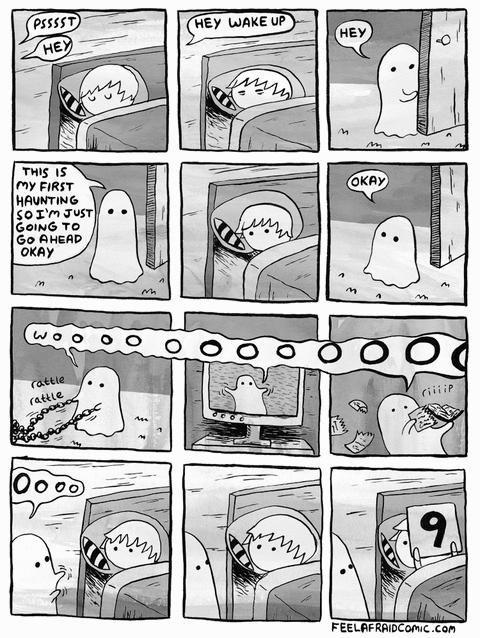 Haunting. (REPOST). FEELER In rune. -1 I. Good Guy Ghost