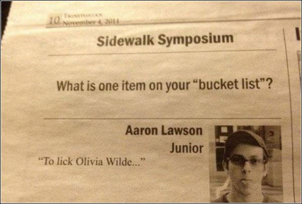 He Licks.... . sidewalk symposium PE I