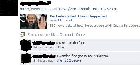 Head Shot!. . Bin Laden killed: How it happened BBC new looks at hcy, i, the operation to kill Osama Bin Laden L El 15. mirt. . tes we Like shot in tha he 14 mi Head Shot Bin La
