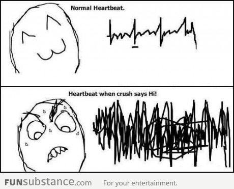 Heartbeat. . funny rage comic lol meme