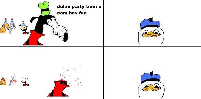 Here's dolan. .