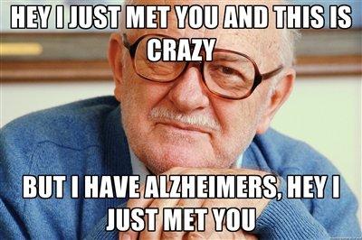 Hey I Just Met You. .