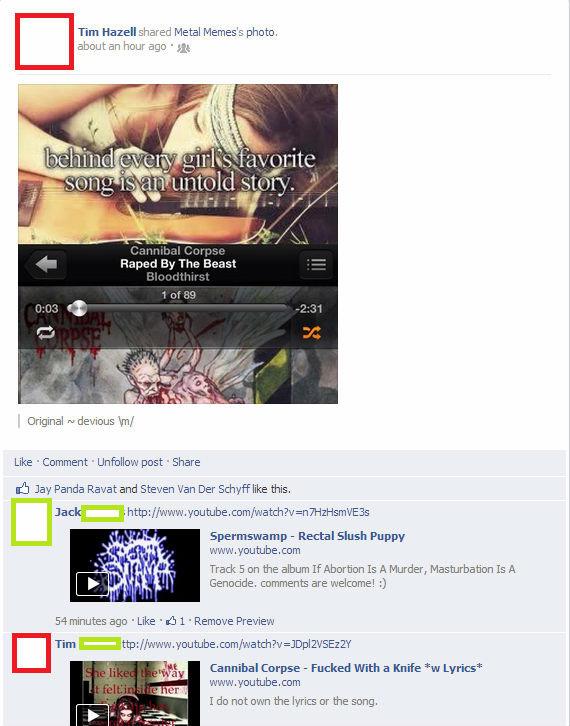 hidden message. . Fm Hazell shared Metal Memes' s photo. om-: 1 1511111. , Bit Original cu devious / Like . Comment Unfollow post I Share Jay Panda Rabat and St