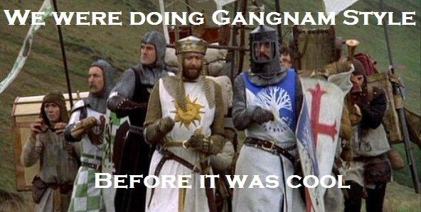 Hipster Knights. Warning: Original Content.. no