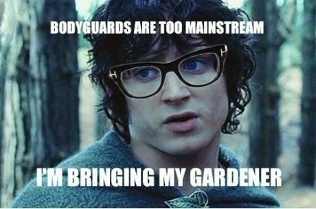 Hipster Frodo. .