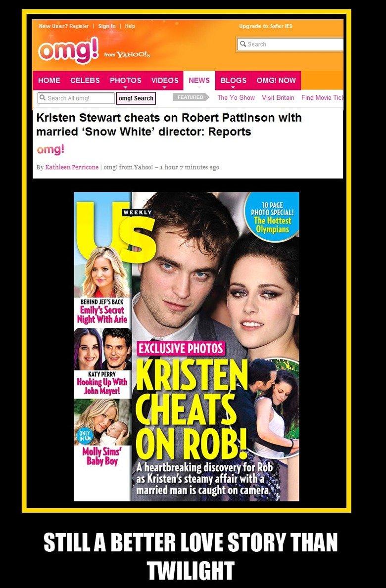 His name is Rupert Sanders.. The director's name is Rupert Sanders.. HOME CELEBS PHOTOS VIDEOS NEWS BLOGS OMB! NOW Kristen Stewart cheats en Rather: Pattinson w