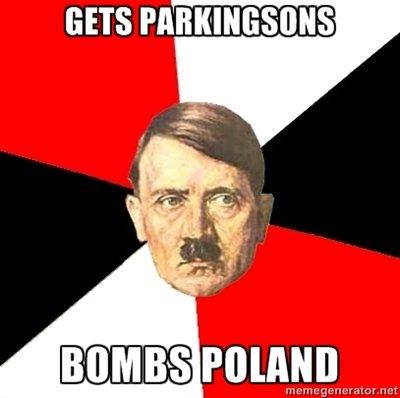 Hitler. Because jews.