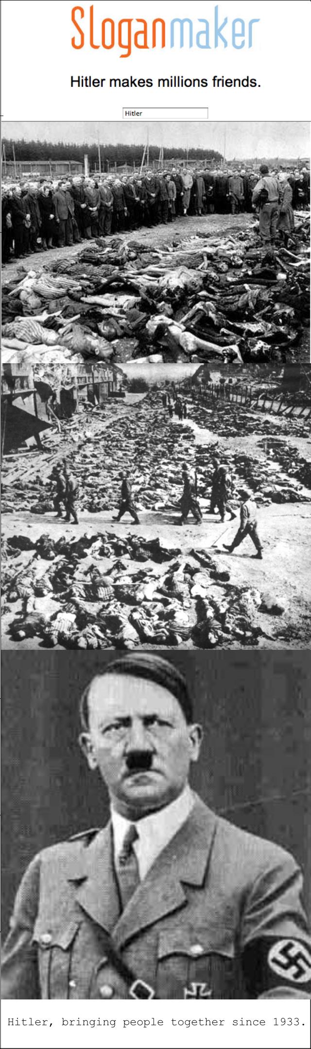 Hitler. OC as . bringing since 1933. Hitler,
