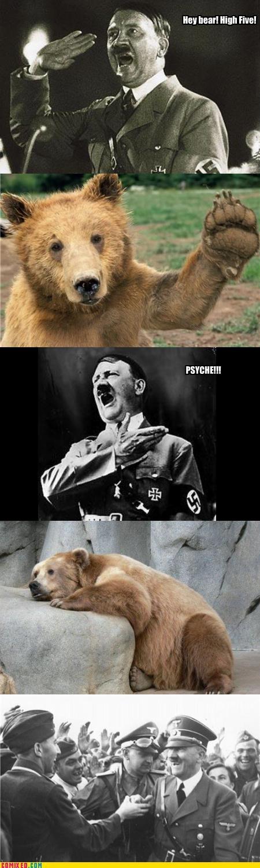 Hitler Is A Jerk. . HE! Him] Final Hitler is a jerk