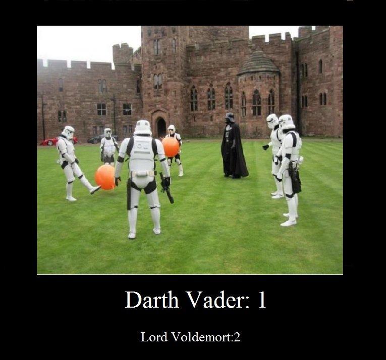 Hogwarts!. Lol.. Darth Vader: I